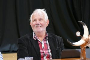 David Wright smiles at the 2017 AGM ion Aucland