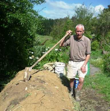 Peter Bacchus, life member of the NZ Biodynamic Farming & Gardening Assn